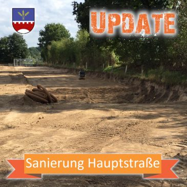 Update Sanierung zur Hauptstraße K12
